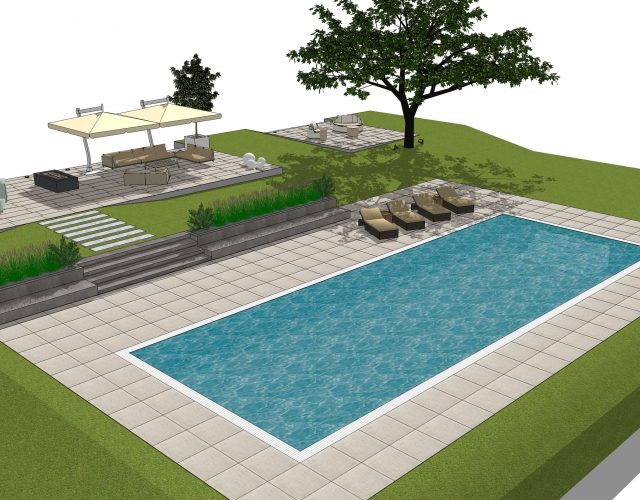 Design concept for pool