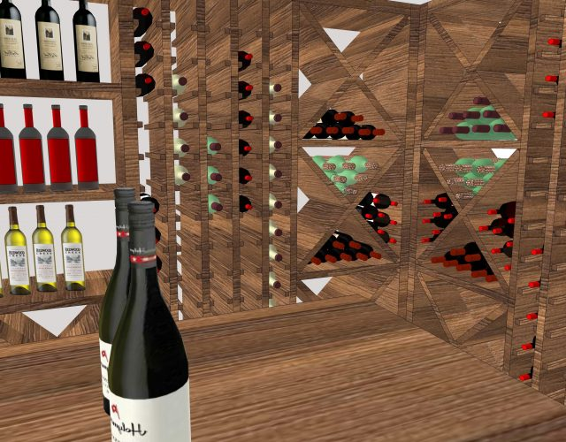 Design concepts for wine room